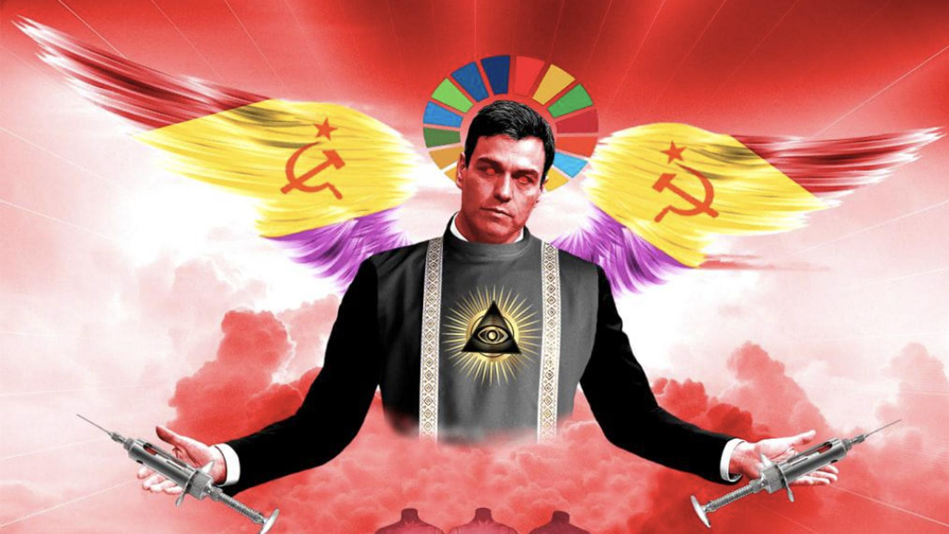 Pedro Sánchez Illuminati