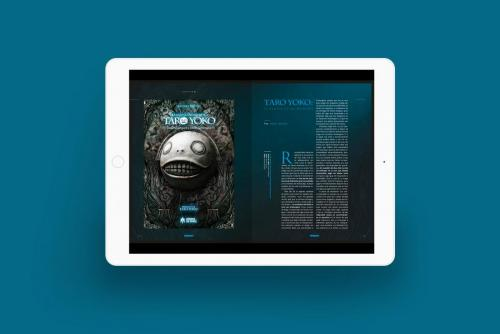 iPad Mock Interior Digital